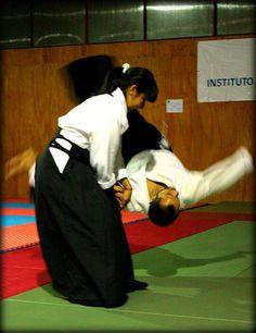 #Aikido 合気道 Kaoru by Cmura, via Flickr