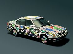 Andy Warhol and South Africa's Esther Mahlangu are two of 17 artists that have contributed to amazing BMW artworks. Celebrate 40 years of Art Cars with our awesome gallery! Bmw Z1, Frank Stella, Robert Rauschenberg, Jeff Koons, Alexander Calder, David Hockney, Sport Cars, Race Cars, Transformers
