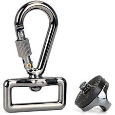 BIRUGEAR Quick Release Trigger Snap Hook Ring Carabiner with Screw Lock For DSLR SLR Digital Camera