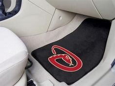 MLB - Arizona Diamondbacks 2 Piece Front Car Mats