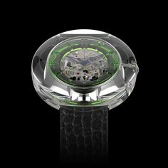 Project O - Concept Watch O1 the green sphere See more http://project-o-concept.com/concept/watch-o1