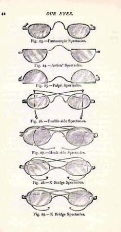 Victorian spectacles/eyeglasses/glasses
