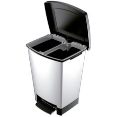 PAPELERA POLIPROPILENO ARU 02161 (ARU 02161)   Todo para tu hotel Metal Epoxy, Canning, Cubes, Stainless Steel, Remainders, Recycling, Waste Container, Home Canning, Conservation