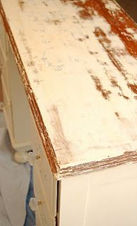 How to strip paint/poly off furniture