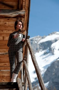 Två veckor kvar sen står man där :-) @Kari Traa, Functional Underwear! #snow