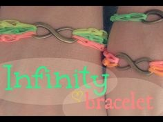 ▶ DIY: Infinity Bracelet - YouTube