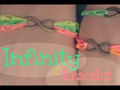 ▶ DIY: Infinity Bracelet - YouTube