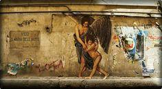 Zilda in Rome, Italy #streetart #graffiti #beststreetart #urbanart #art #graffiti2013 #amazingstreetart #zilda #rome