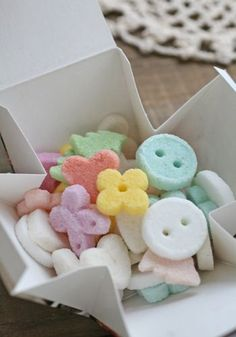 Kawaii sugar cubes