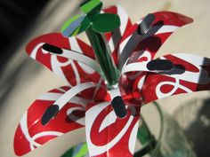 With a little creativity you can change ordinary looking soda bottle into something beautiful !