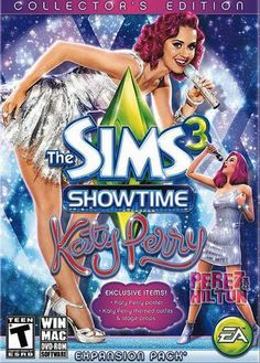 The Sims 3 Showtime Katy Perry