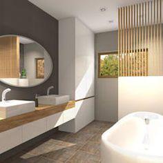 Banheiros modernos por Pracownia Projektowa ArtSS Sylwia Stankiewicz