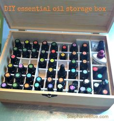 DIY OIl Storage How do I store essential oils?