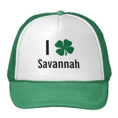 31ee449ad0bad   gt  gt Cheap I love (shamrock) Savannah St Patricks Day Trucker