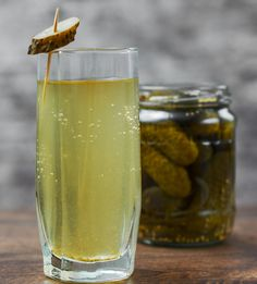 Don't toss that pickle jar just yet. Drinking pickle juice is associated with weight loss, improved athletic performance, and many other health benefits. Dill Pickle Juice Recipe, Drinking Pickle Juice, Pickle Juice Benefits, Meat Marinade, Drying Dill, Acetic Acid, Cucumber Recipes, Pickle Jars, Sore Muscles