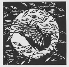 Clare Lindley - Papercut Art
