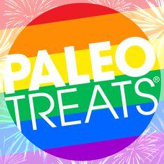 Paleo Treats rainbow!  More info: www.paleotreats.com