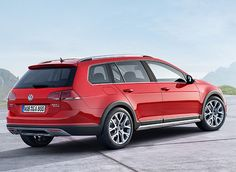 Details and photos of Volkswagen's all-wheel-drive Golf Alltrack wagon. Read all about the 2017 Alltrack at Car and Driver. Volkswagen Golf Variant, Volkswagen Group, Volkswagen Jetta, Jetta Wagon, Vw Wagon, Vw Variant, Vw Golf Variant, Passat Tdi, Vw Group