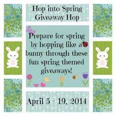 Thoughts of Happiness: Hop Into Spring Giveaway