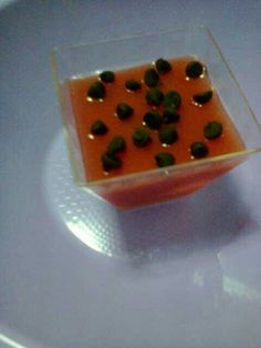 Gelo di mellone (gelatina di anguria)