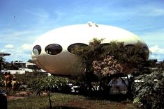 Futuro home in Darwin in the 1970s