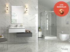 Ergonomik tasarımı ve dolap içlerindeki sensörlü aydınlatması ile kolay kullanım olanağı sunan Beyaz Saray serisi #çokbeğenildi #haftanınfavorisi #favoritebathrooms #kale #banyo #banyodekorasyon #banyomobilyaları #bestbathrooms