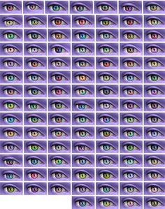 The simsperience: 102 Recolors of Vampire Aninyosaloh's Enticing Eyes • Sims 4 Downloads
