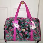 ❤♤ #LUV #BETSEY JOHNSON Weekender #Quilted Floral Travel Duffle/Carry On Bag... Top http://j.mp/2wwiIFy