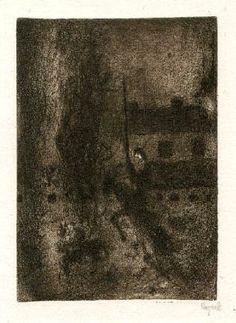Bohuslav Reynek Don Quijote a Sancho Panza / Don Quijote and Sancho Panza suchá jehla / dry point 14,8 x 10,3 cm, 1964, opus G 530