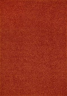 shaggy collection solid color shag area rugs burnt orange
