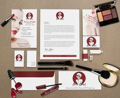 Feminine logo, branding, cosmetic logo, spa logo by Enchanting Web Designs