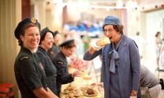 Call the Midwife series three: Chummy eats a giant cake and the nuns have a giggle on set