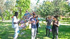 Felipe Cardeña, una tenda hippy per abbattere confini e differenze « IF