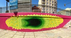 Gola Hundun – New Mural in Barcelona