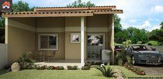 Planta de Casa - 2 Quartos - 65.56m² - Monte Sua Casa