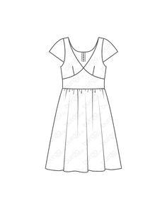 burda style, burda style Magazin Schnitt, Sommerkleid - Formblende 05/2013 #125, Tailliertes Sommerkleid mit Formblende und kurzen Ärmeln. Es wird im Rücken mit einem Reißverschluss geschlossen und hat am Saum eine Stickereibodüre. Sie brauchen: Stickereibatist mit einseitiger Bordüre, 135 cm breit: 1,90 – 1,90 – 2,00 – 2,00 – 2,00 m, quer zugeschnitten. Batist als Rockfutter, 140 cm breit: 0,65 m für alle Größen. 1 Nahtreißverschluss, 60 cm lang und Spezial-Nähfuß. Stoffempfehlung: Feine Stoffe Style Magazin, Form, Summer Dresses, Mini, Fashion, Button Up Dress, Floaty Dress, Aperture, Fabrics