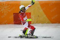 Wendy Holdener >Bestzeit im SL war keine schneller ! Pyeongchang, Snowboard, Rugby, Freestyle, Photos, War, Nordic Skiing, Cycling, Athlete