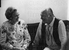 Nachlass Curd Jürgens | Curd Jürgens und Begum Aga Khan III., 5