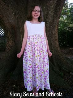 Stacy Sews and Schools: Little Birdie Nightgown Tutorial