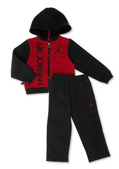 ea0bc96301f199  60 Nike Air Jordan Baby Boys 2-Piece Jacket Pants Active Set 12M 18M 24M