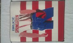 Very RARE Vintage Bruce Springsteen Born in the USA Rock jacket Back Patch New Old/Dead stock