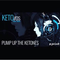 Pump up the ketones by adding PrüVit's Keto OS!