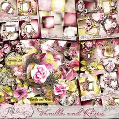 Personal Use :: Bundled Deals :: Vanilla and Roses - Bundle (PU/S4H) by Feli Designs