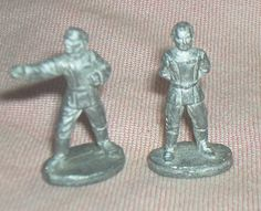 2pc. STAR WARS Role Playing Game, Unpainted, 25 mm Metal Miniatures, Villains, Death Star Officer/Emperor, West End Games, '87/'88, EXC. by brotoys1 on Etsy