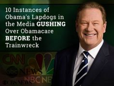 Lol, these liberals chalked up Obamacare as the BEST thing since sliced bread.. before the trainwreck.  Watch the clip: http://mrc.org/media-reality-check/what-they-said-train-wreck-top-10-worst-quotes-pushing-obamacare  BONUS: You get to watch Ed Schultz make a complete and utter fool of himself.. TWICE!