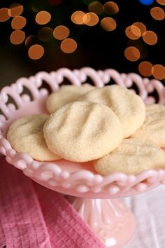soft almond cookies - Sing for Your Supper