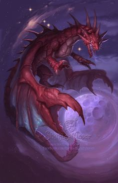 ✯ Zodiac Dragon.Cancer .. by =The-SixthLeafClover✯