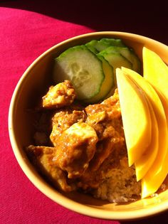 Spicy Mango Chicken Coconut Curry