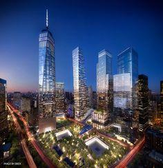 BIG Unveils 2 World Trade Center in New York City