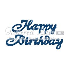 Tattered Lace Happy Birthday Mini Die TL-ACD234